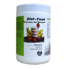 Diet food batido sabor frutas del bosque 500 grs. Nale