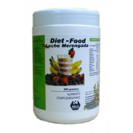 Diet food batido sabor leche merengada 500 grs. Nale