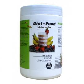 Diet food batido sabor melocotón 500 grs. Nale