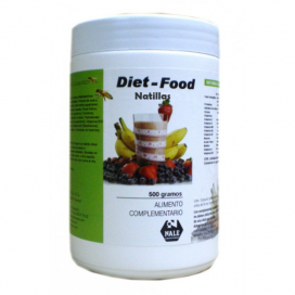 Diet food batido sabor natillas 500 grs. Nale