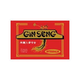Ginseng 60 cápsulas 500 mg. Integralia