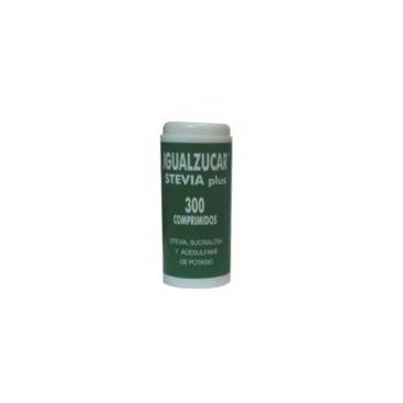 Igualazucar Stevia plus 300 comprimidos Integralia