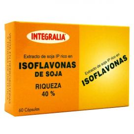 Isoflavonas 60 cápsulas Integralia