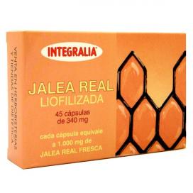 Jalea Real liofilizada 45 cápsulas 300 mg. Integralia