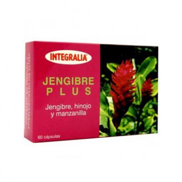 Jengibre plus 60 cápsulas Integralia