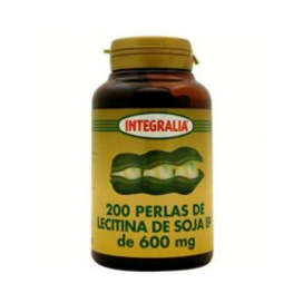 Lecitina de soja bote 200 perlas 540 mg. Integralia