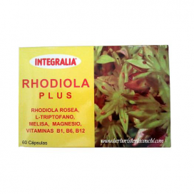 Rhodiola plus 60 cápsulas Integralia