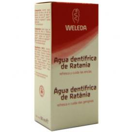 Agua dentífrica de ratania 50ml Weleda