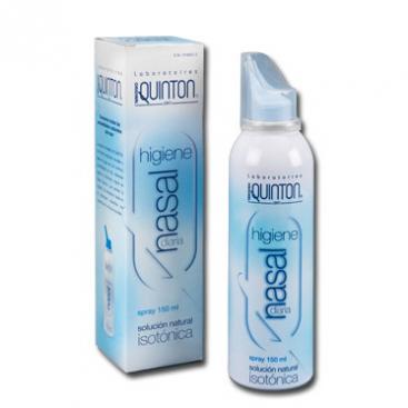Quinton higiene nasal diaria spray 150 ml.
