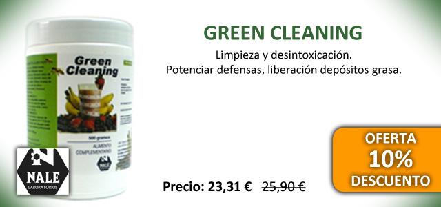 Oferta Green Cleaning de Nale para tratamientos de depuración
