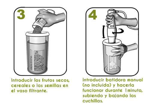 Instrucciones de uso Chufamix 2